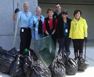 COT-Earth Day Clean-up